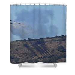 Yes Baby, Angels Do Make Shadows Shower Curtain