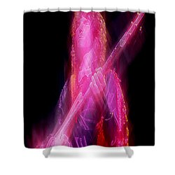 Yessquire Shower Curtain by Kenneth Armand Johnson