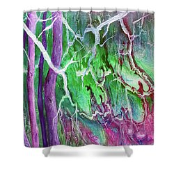 Yesterday's Dream Shower Curtain by Susan DeLain