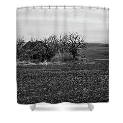 Yesterday's Farm Shower Curtain