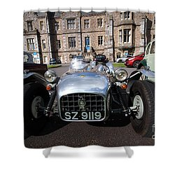 Shower Curtain featuring the photograph Yesurday  by Gary Bridger