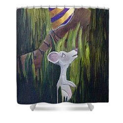 Yikes Mouse Shower Curtain