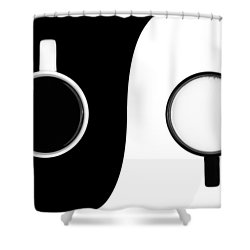 Shower Curtain featuring the photograph Yin And Yang by Gert Lavsen