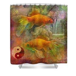 Yin Yang 2015 Shower Curtain