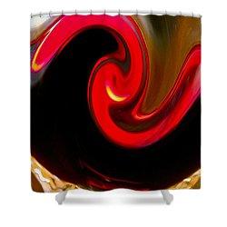 Yin Yang Shower Curtain by Bill Owen