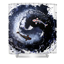 Yin - Yang Shower Curtain