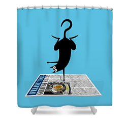 Yoga Mat Shower Curtain
