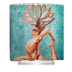 Yogi Shower Curtain