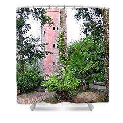 Yokahu Observation Tower Shower Curtain