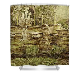 York House Gardens Statues - Twickenham Shower Curtain