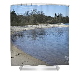 York River Shower Curtain by Melissa Messick