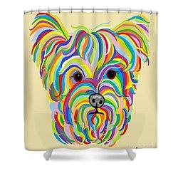 Yorkshire Terrier ... Yorkie Shower Curtain by Eloise Schneider