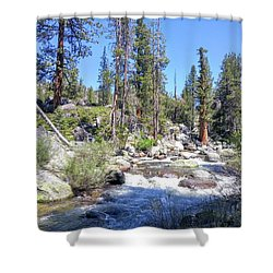 Yosemite Rough Ride Shower Curtain