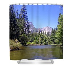 Yosemite Lifestyle Shower Curtain