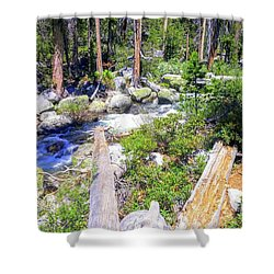 Yosemite Adventure Shower Curtain