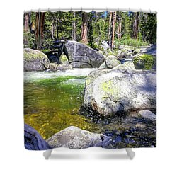 Yosemite Alive Shower Curtain