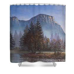 Yosemite Dawn Shower Curtain by Sean Conlon