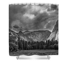 Yosemite Meadows Shower Curtain