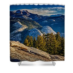 Yosemite Morning Shower Curtain by Rick Berk
