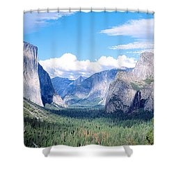 Yosemite National Park, California, Usa Shower Curtain by Panoramic Images