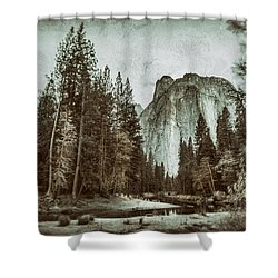 Shower Curtain featuring the photograph Yosemite National Park by James Bethanis