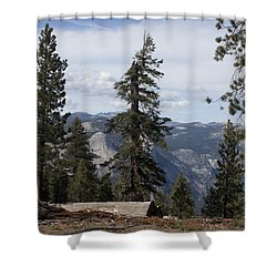 Shower Curtain featuring the photograph Yosemite Park by Ivete Basso Photography