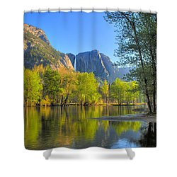 Shower Curtain featuring the photograph Yosemite Reflections by Kim Wilson