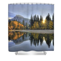 Yosemite Reflections Shower Curtain