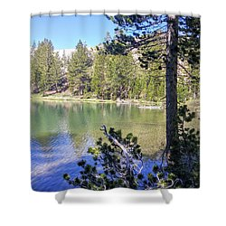 Yosemite Lake Shower Curtain