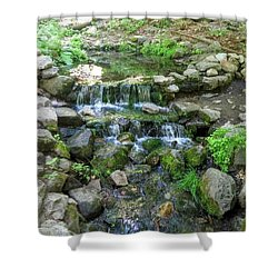 Yosemite Stream Shower Curtain