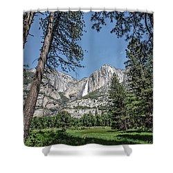 Yosemite View 13 Shower Curtain by Ryan Weddle