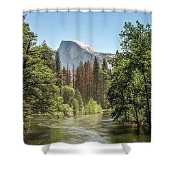 One Valley View Shower Curtain by Ryan Weddle