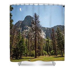 Yosemite View 18 Shower Curtain