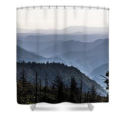 Yosemite View 27 Shower Curtain