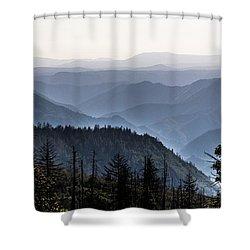 Yosemite View 27 Shower Curtain by Ryan Weddle