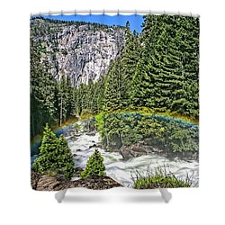 Yosemite View 29 Shower Curtain by Ryan Weddle