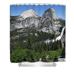 Yosemite View 30 Shower Curtain by Ryan Weddle