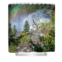 Stroll Passed Nevada Shower Curtain by Ryan Weddle