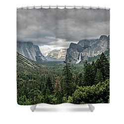Yosemite View 36 Shower Curtain
