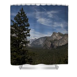 Shower Curtain featuring the photograph Yosemite View by Ivete Basso Photography