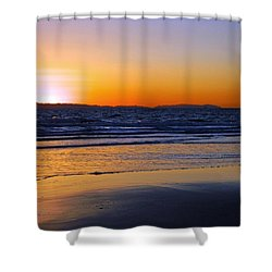 You And Me Shower Curtain by Everette McMahan jr