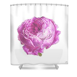 You Are Lovely Shower Curtain