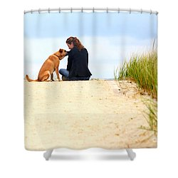 Shower Curtain featuring the photograph You Are My Sunshine by Dana DiPasquale