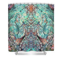 You Are The Breath Shower Curtain