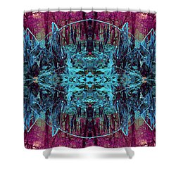 You Are The Frequency Shower Curtain