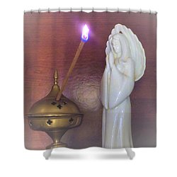 Shower Curtain featuring the photograph You Are The Light Of The World by Denise Fulmer