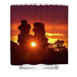 You Can Preach A Better Sermon With Your Life Than With Your Lips. Shower Curtain
