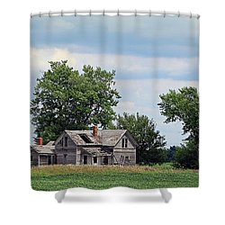 Sometimes You Can't Go Home Shower Curtain