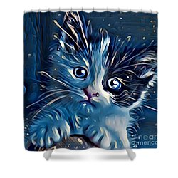 You Cuddle Wit Me  Shower Curtain