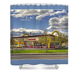 Shower Curtain featuring the photograph You Deserve A Break Today by Chris Anderson